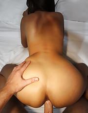Brunette enjoys anal fucking