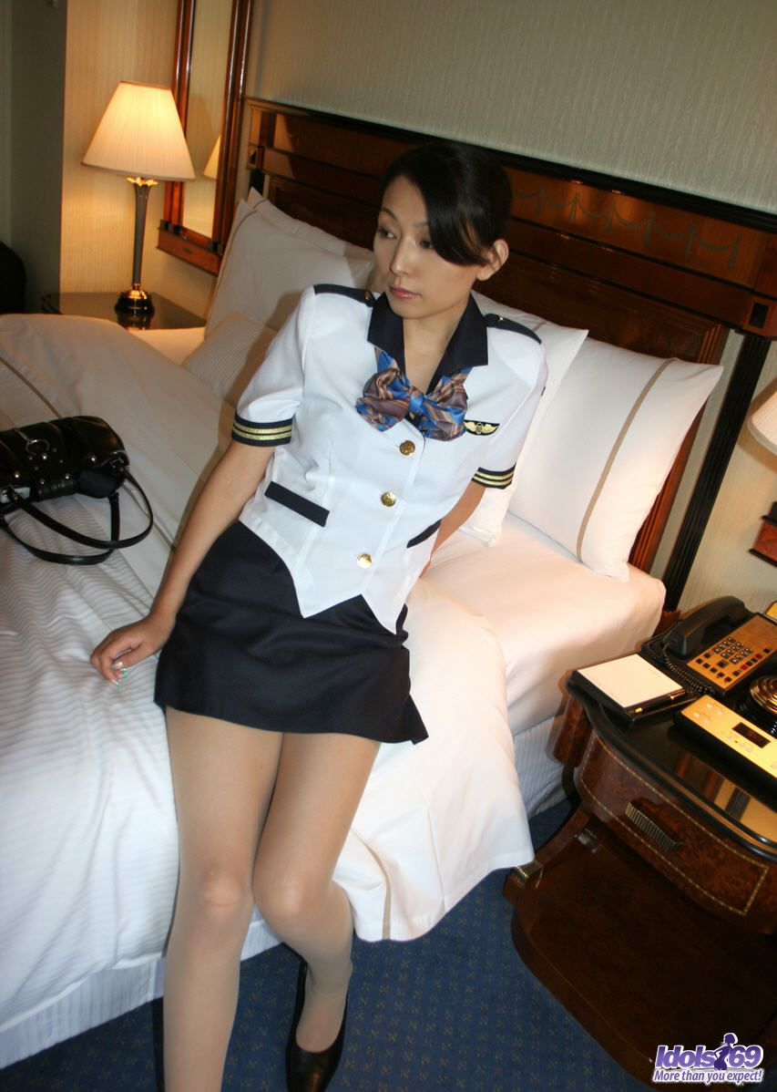 Flight attendant sex nude asian